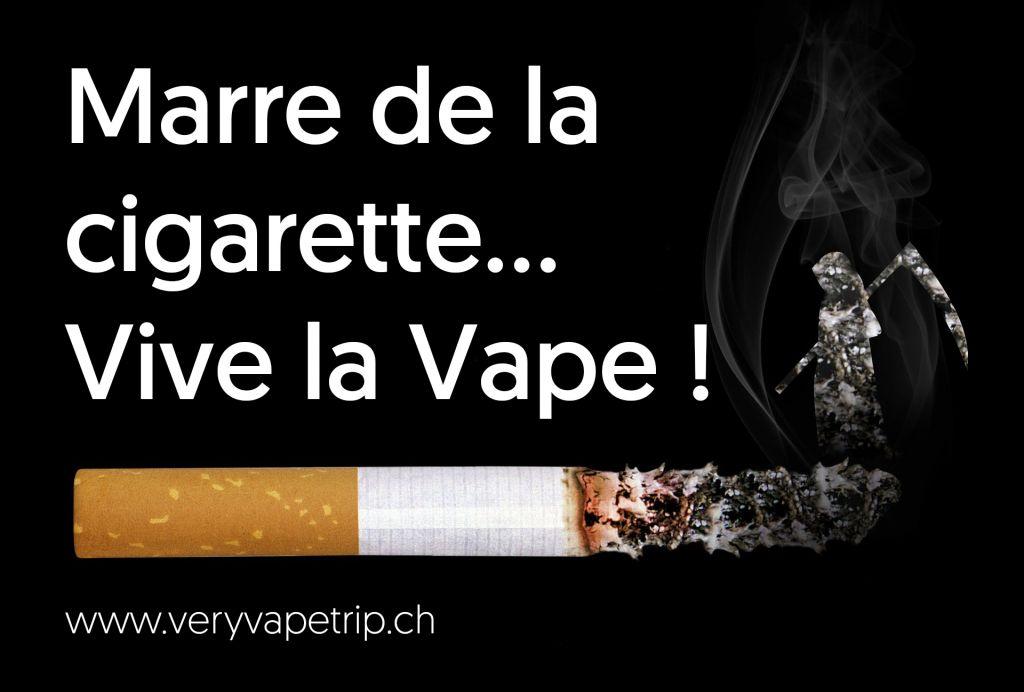 Marre de la cigarette qui tue